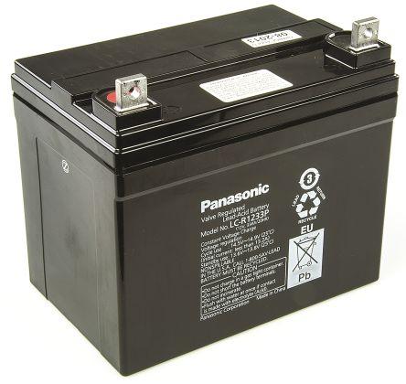 Acumulator VRLA Panasonic 12V 33 Ah cod LC-V1233P-big