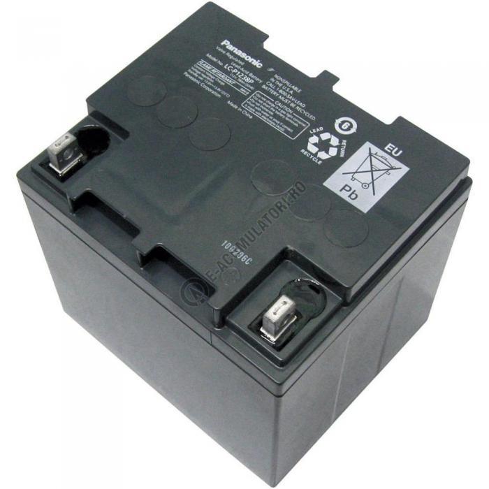 Acumulator VRLA Panasonic 12V 38 Ah cod LC-P1238PG (M5 bolt)-big
