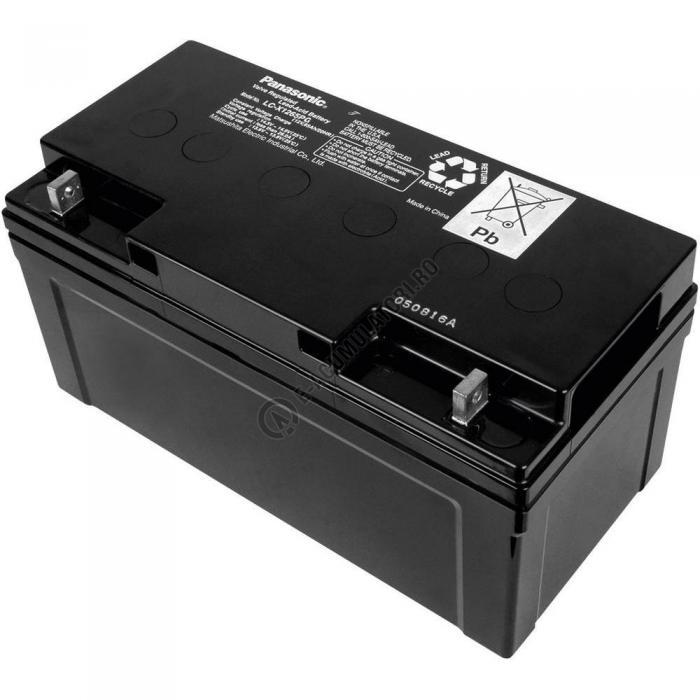 Acumulator VRLA Panasonic 12V 65 Ah cod LC-X1265PG (M6 bolt)-big