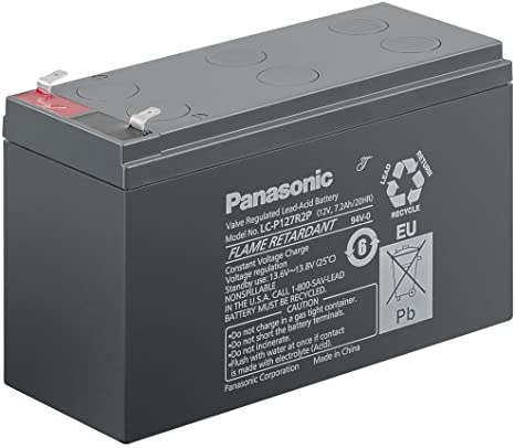 Acumulator VRLA Panasonic 12V 7.2 Ah cod LC-P127R2P (F187)-big