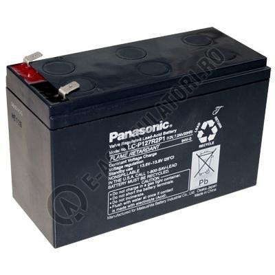 Acumulator VRLA Panasonic 12V 7.2 Ah cod LC-P127R2P1 (F250)-big