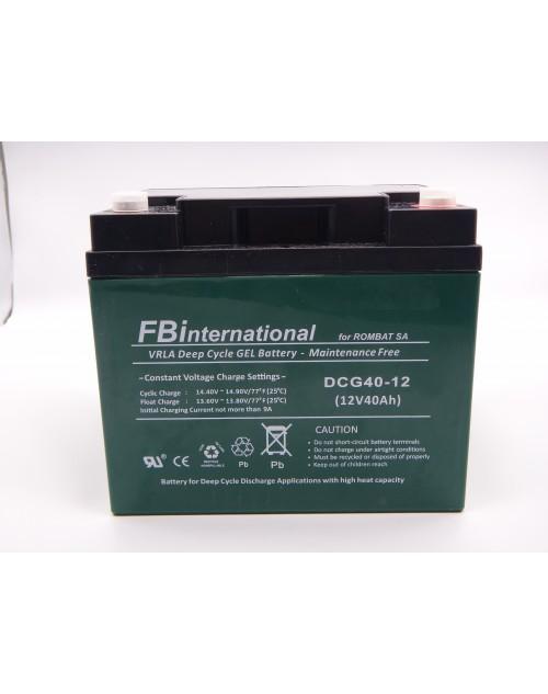 Acumulator VRLA FB International GEL 12V 40 Ah DCG40-12-big