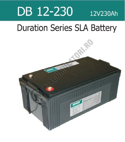 Acumulator VRLA  BSB 12 V 230 Ah COD DB12-230-big