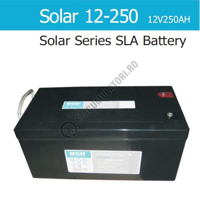 Acumulator VRLA Solar BSB 12 V 250 Ah COD SOLAR12-250-big