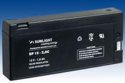 Acumulator VRLA SUNLIGHT 12V 1.6 Ah cod SPA 12-2C-big
