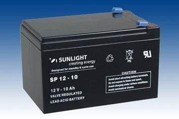 Acumulator VRLA SUNLIGHT 12V 10 Ah cod SPA 12-10-big