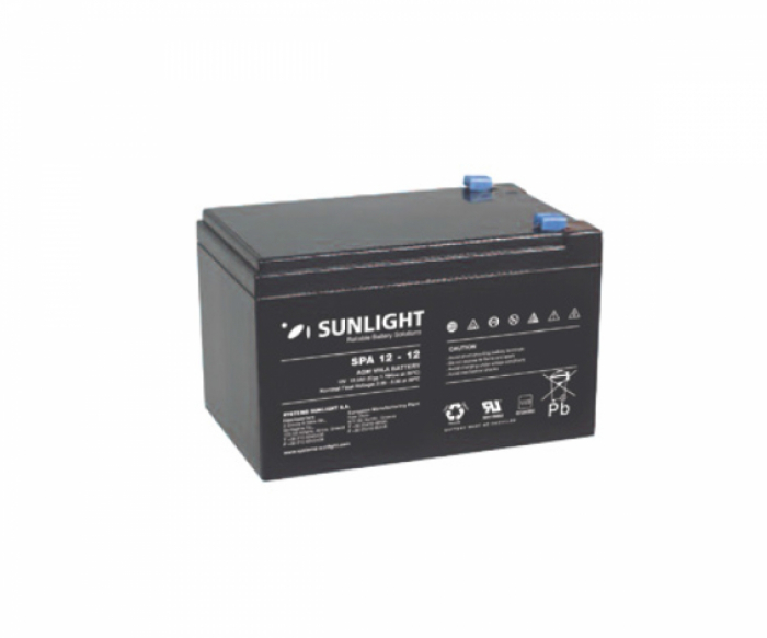 Acumulator VRLA SUNLIGHT 12V 12 Ah cod SPA 12-12-big