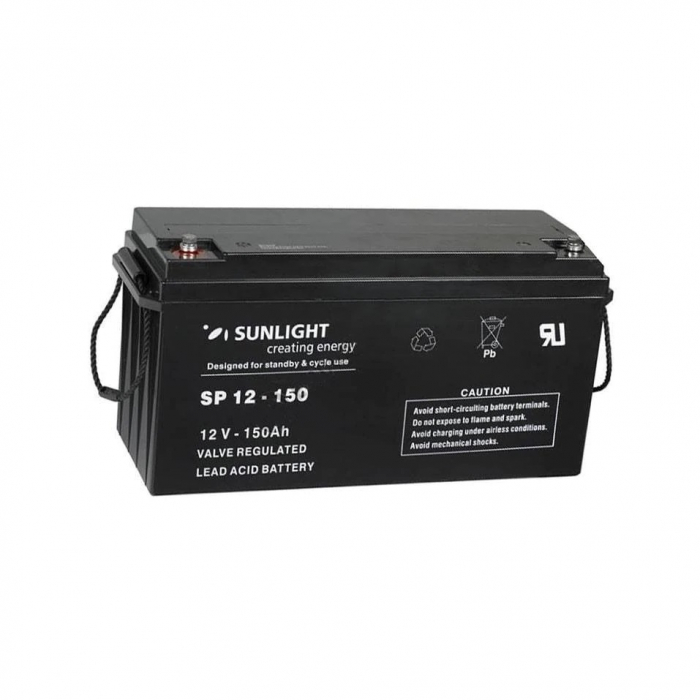 Acumulator VRLA SUNLIGHT 12V 150 Ah cod SPB 12-150-big