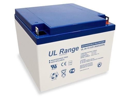 Acumulator VRLA ULTRACELL 12 V 26 Ah cod UL26-12-big
