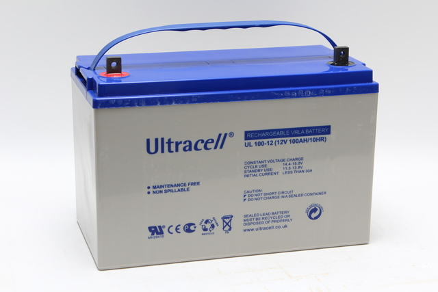 Acumulator VRLA Ultracell 12V, 100Ah UL100-12-big