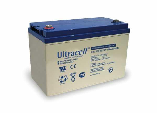 Acumulator VRLA Ultracell 12V, 100Ah UXL100-12-big