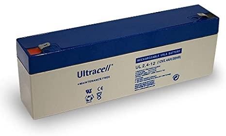 Acumulator VRLA Ultracell 12V, 2.4Ah UL2.4-12-big