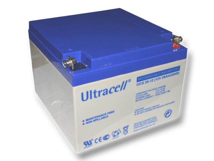Acumulator VRLA Ultracell 12V 26 Ah UCG26-12-big