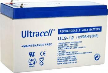 Acumulator VRLA Ultracell 12V, 9Ah UL9-12-big