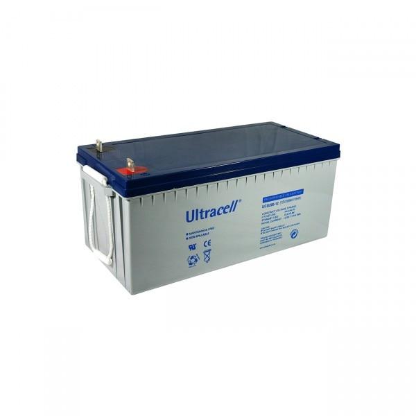 Acumulator VRLA Ultracell 12V cu GEL, 200Ah UCG200-12-big