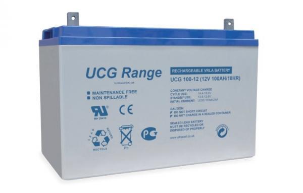 Acumulator VRLA Ultracell cu GEL 12V, 100Ah UCG100-12-big