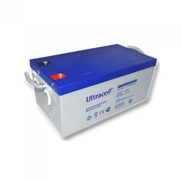 Acumulator VRLA Ultracell cu GEL 12V, 250Ah UCG250-12-big