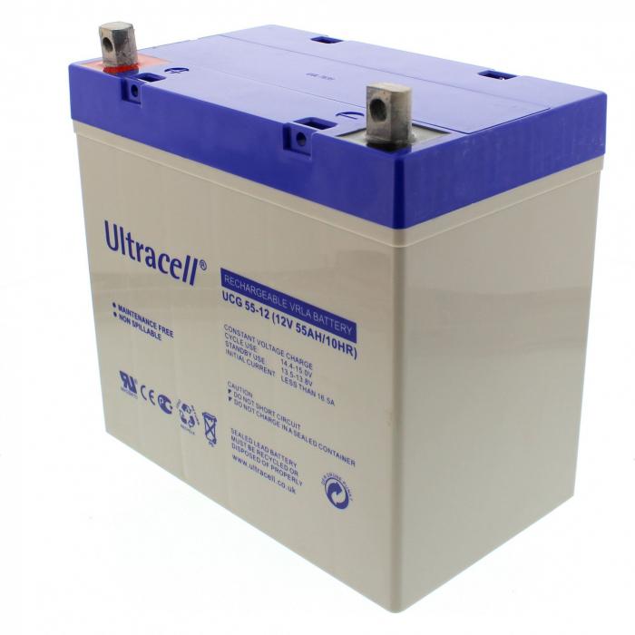 Acumulator VRLA Ultracell GEL Deep Cycle 12V 55 Ah UCG55-12-big