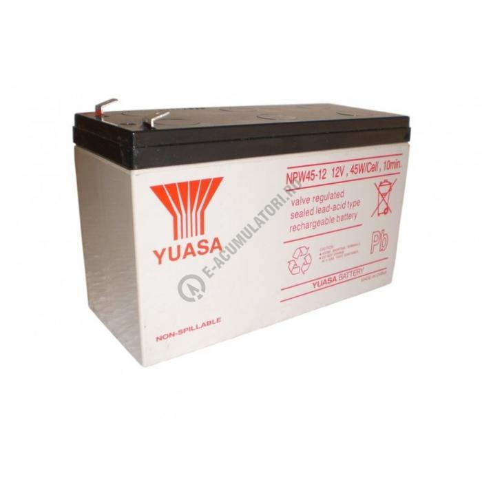 Acumulator VRLA Yuasa 12 V 9 Ah cod NPW45-12-big