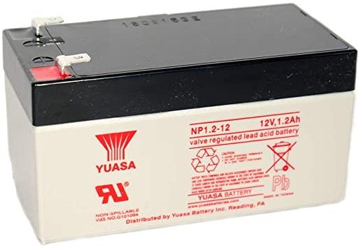 Acumulator VRLA Yuasa 12V, 1.2 Ah NP1.2-12-big
