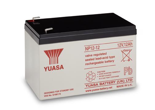 Acumulator VRLA Yuasa 12V, 12Ah NP12-12-big
