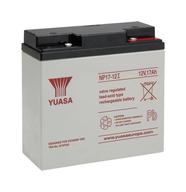 Acumulator VRLA Yuasa 12V, 17Ah NP17-12-big