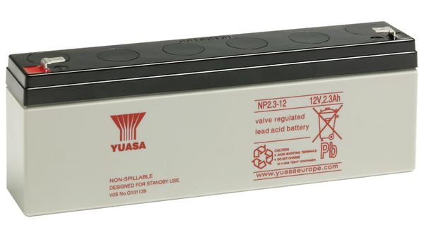 Acumulator VRLA Yuasa 12V, 2,3Ah NP2.3-12-big