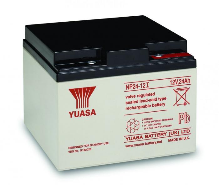 Acumulator VRLA Yuasa 12V, 24Ah NP24-12-big