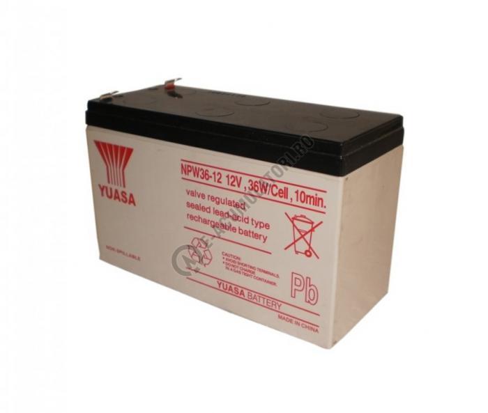 Acumulator VRLA Yuasa 12 V 7 Ah cod NPW36-12-big