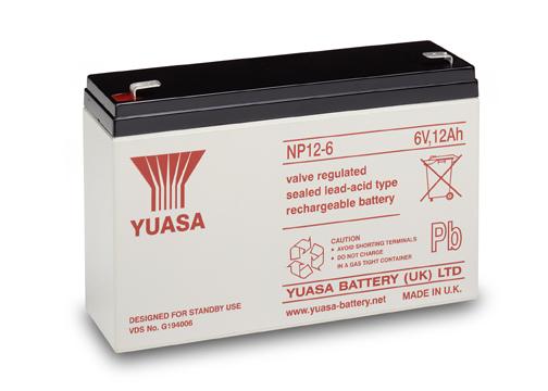 Acumulator VRLA Yuasa 6V, 12Ah NP12-6-big