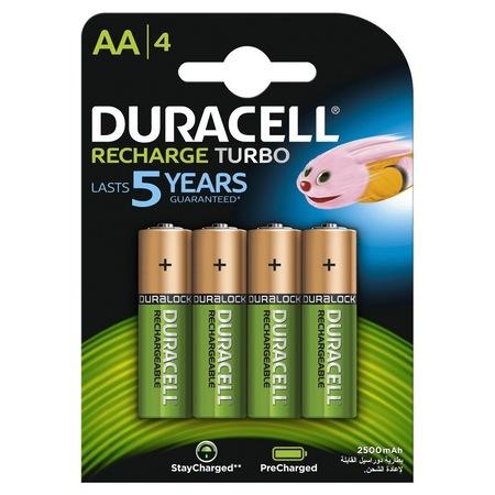 Acumulatori Duracell AA Duralock 2500 mAh, blister de 4 buc-big
