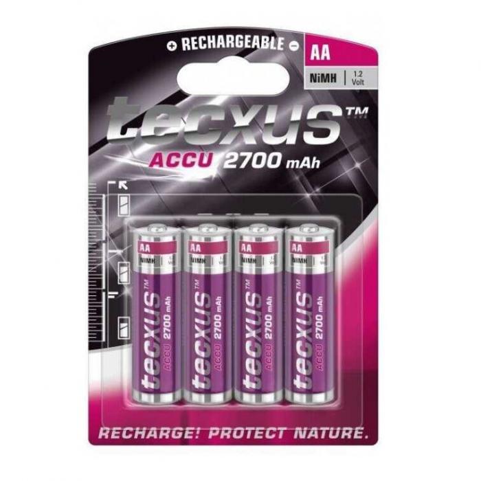 Acumulatori Tecxus AA 2700 mAh blister de 4 buc-big
