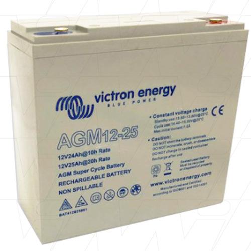 Acumulator VRLA AGM Victron Energy 12V 25 Ah Super Ciclic pentru biciclete electrice AGM 12-25-big
