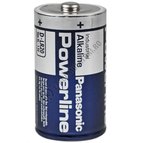 Baterie alcalina Powerline Panasonic Industrial D LR20 LR20AD-big