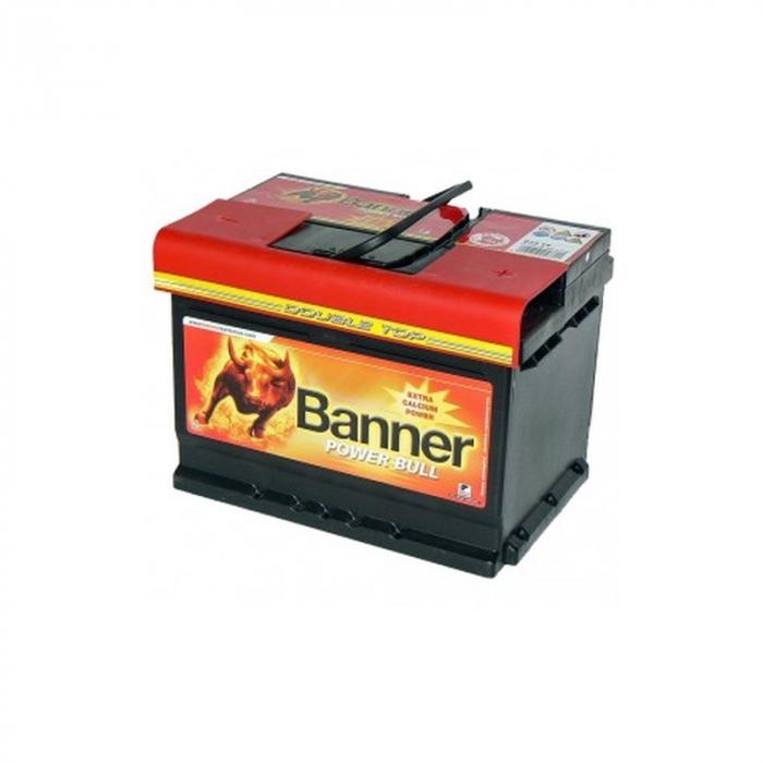 Baterie Auto Banner Power Bull 62 ah cod P6205-big