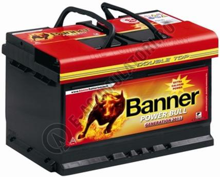 Baterie Auto Banner Power Bull 62 ah cod P6219-big