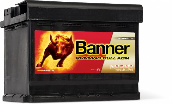 Baterie Auto Banner Running Bull AGM 60 ah cod 56001-big