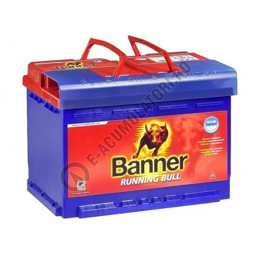 Baterie Auto Banner Running Bull AGM 92 ah cod 59201-big