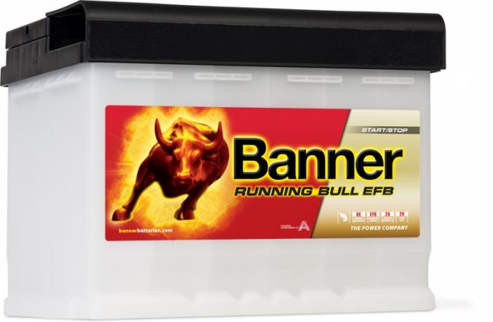 Baterie Auto Banner Running Bull EFB 60 ah cod 56011-big