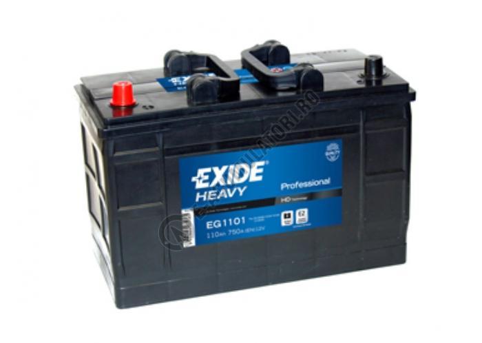 Baterie Auto EXIDE Professional 110 Ah borne inverse cod EG1101-big