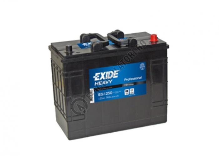 Baterie Auto EXIDE Professional 125 Ah cod EG1250-big