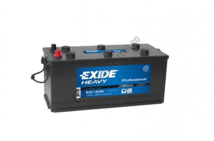 Baterie Auto EXIDE Professional 140 Ah cod EG1406-big