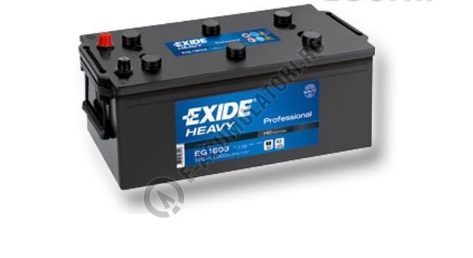 Baterie Auto EXIDE Professional 180 Ah cod EG1803-big