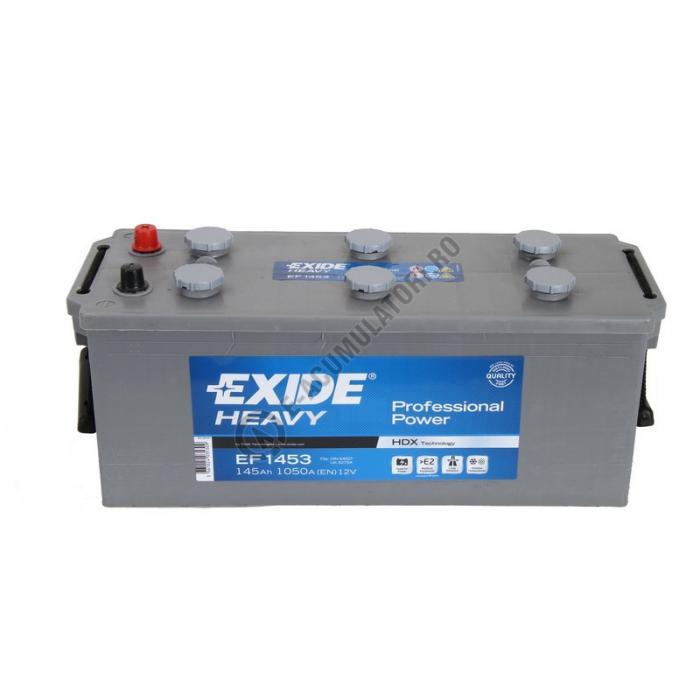Baterie Auto EXIDE PROFESSIONAL POWER HDX 145 Ah cod EF1453-big
