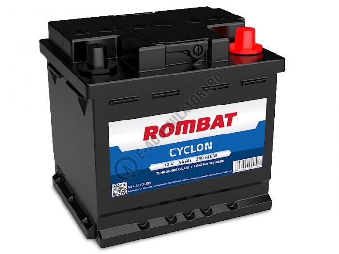 Baterie Auto Rombat Cyclon Calciu 12 V 44 Ah-big