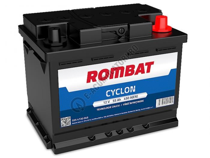 Baterie Auto Rombat Cyclon Calciu 12 V 55 Ah-big
