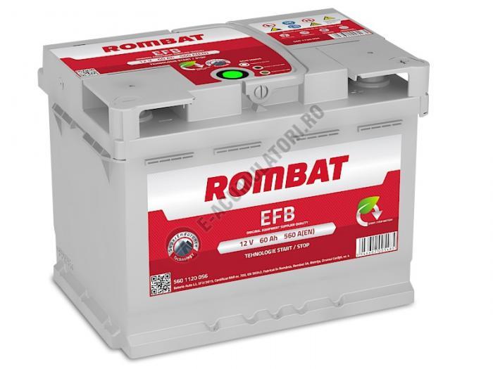Baterie Auto Rombat EFB 12 V 60 Ah-big