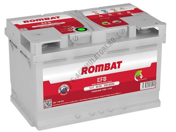 Baterie Auto Rombat EFB 12 V 65 Ah-big