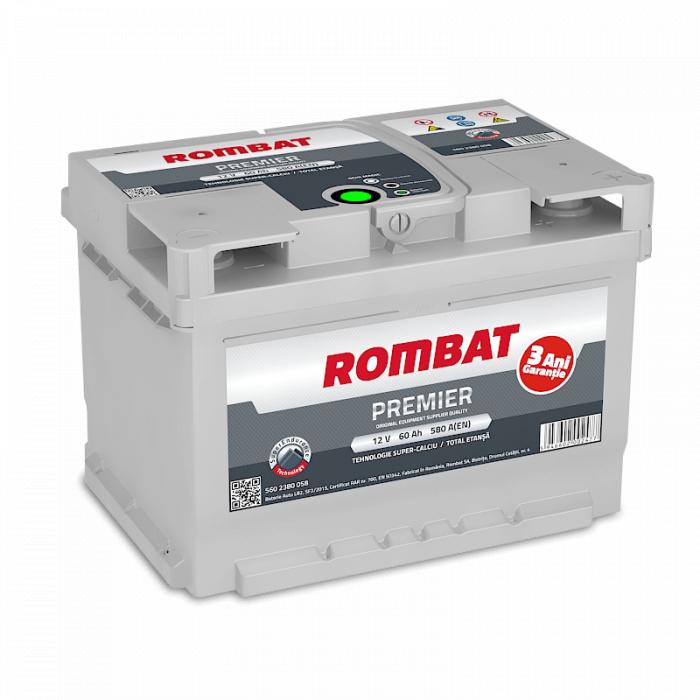 Baterie Auto Rombat Premier 12 V 60 Ah-big