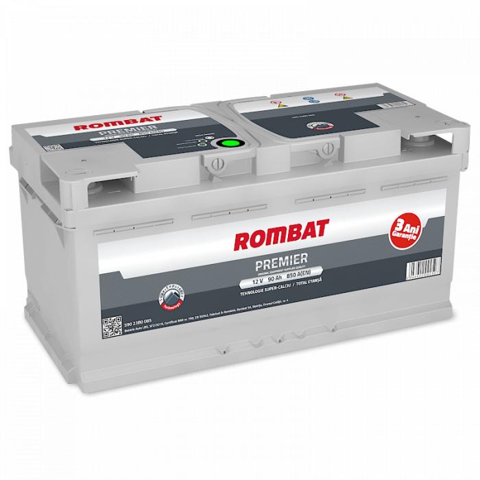 Baterie Auto Rombat Premier 12 V 90 Ah-big